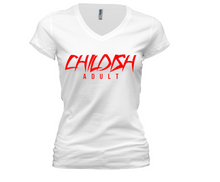 Load image into Gallery viewer, Original  Childish Adult - Women V-NECK