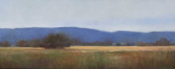 Blue Hills oil on canvas