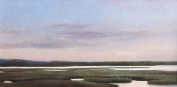 Essex marshes oil on canvas