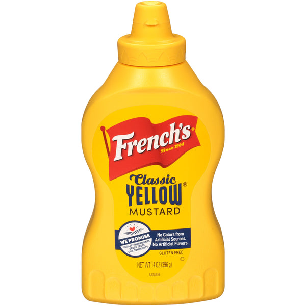 French's Yellow Mustard - 14oz - Papaya Express