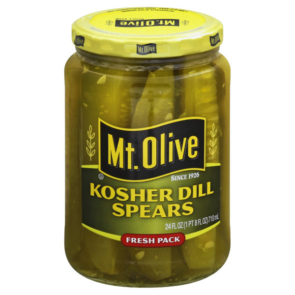 Mt.Olive Kosher Dill Spears 24floz