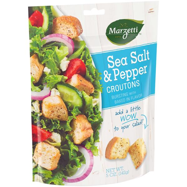 Marzetti Sea Salt & Pepper Croutons - 5oz - Papaya Express
