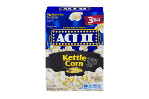 ACT 2 Popcorn - 3CT - Papaya Express