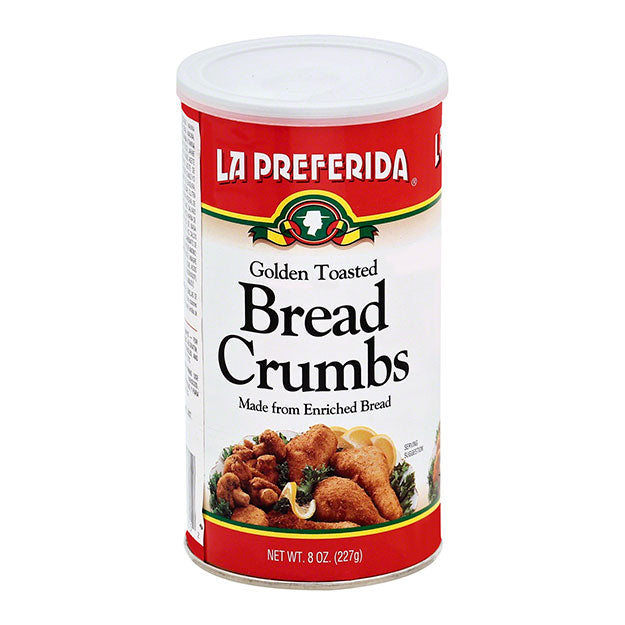 La Preferida Golden Toasted Bread Crumbs - 8oz - Papaya Express