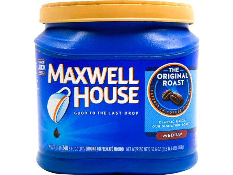 Maxwell House Original Roast Medium, 30.6oz - Papaya Express