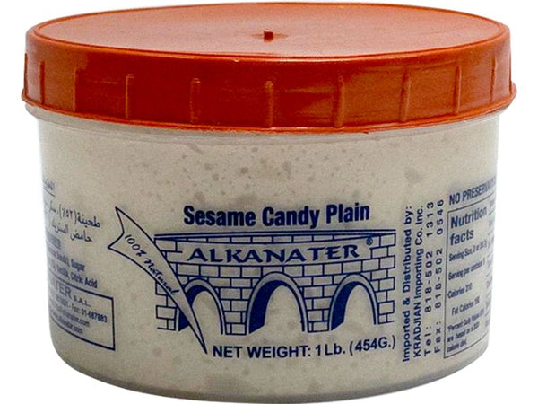 Alkanater Sesame Candy Plain, 1lb - Papaya Express