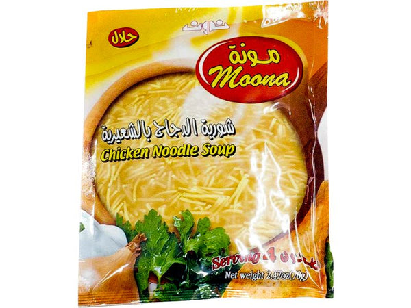 Moona Chicken Noodle Soup, 2.47oz - Papaya Express