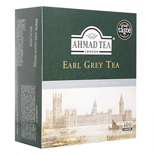 Ahmad Early Grey Tea Bag - 100CT - Papaya Express