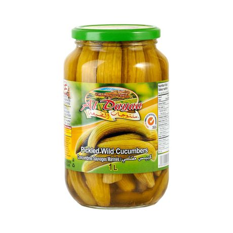 Al Dayaa Wild Pickled Cucumbers - Papaya Express