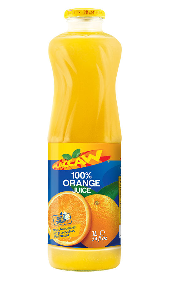 Maccaw Orange Drink 1L - Papaya Express