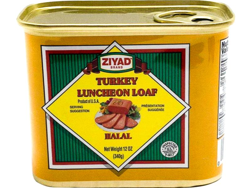 Ziyad Turkey Lunch Loaf, 340g - Papaya Express