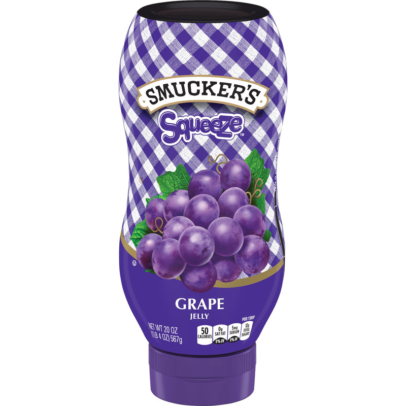Smacker's Grape Jam Squeeze - 20oz - Papaya Express