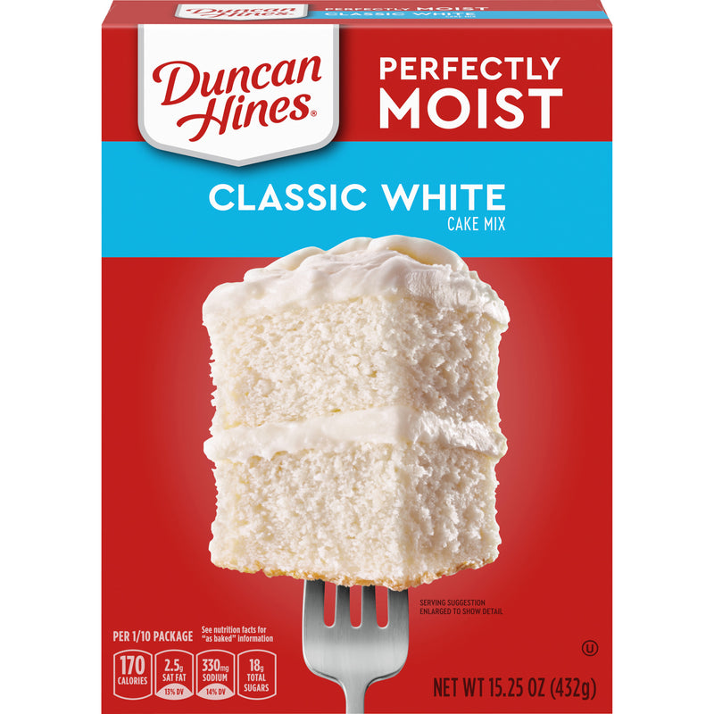 Duncan Hines Classic White Cake Mix - 15.25oz - Papaya Express