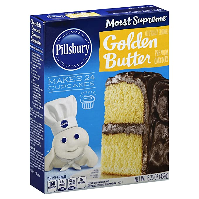 Pillsbury Golden Butter Cake Mix - 15.25oz - Papaya Express