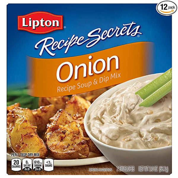 Lipton Recipe Secrets Onion - 2 Envelopes - Papaya Express