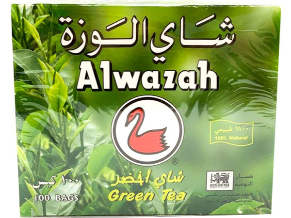 Alwazah Green Tea, 100 Bags - Papaya Express