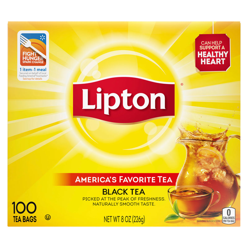 Lipton Black Tea Bags - 100ct - Papaya Express