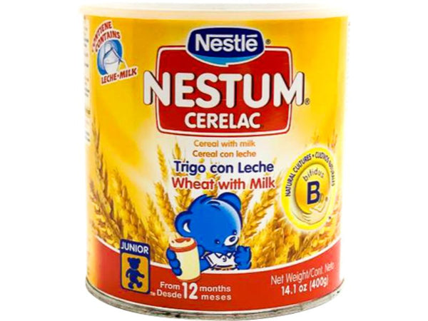 Nestle Nestum Cerelac, 14.1oz - Papaya Express