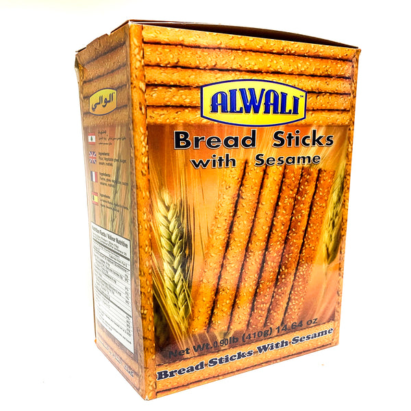 Al-Wali Bread Sticks W/ Sesame 410g - Papaya Express