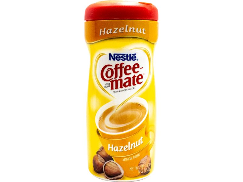 Nestle Coffeemate Hazelnut, 15oz - Papaya Express