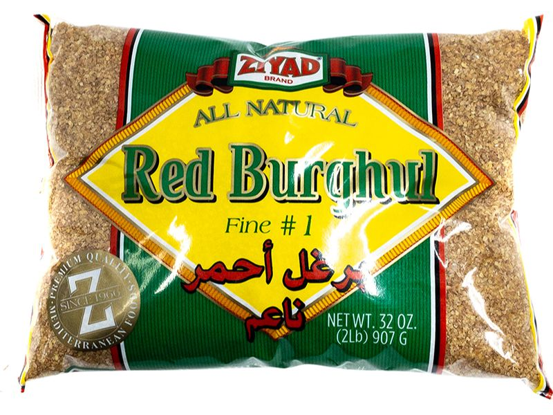 Ziyad Red Burghul Fine, 32oz - Papaya Express