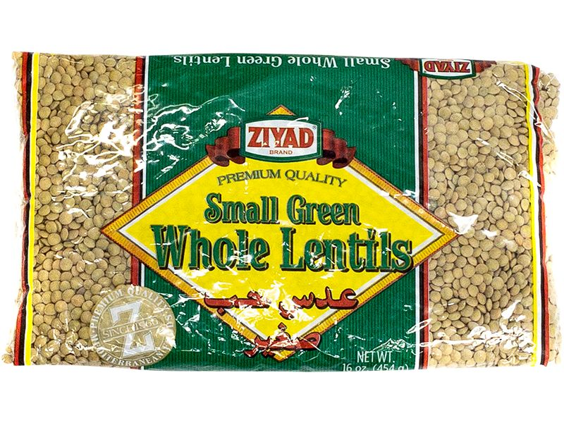 Ziyad Large Green Whole Lentils, 32oz - Papaya Express