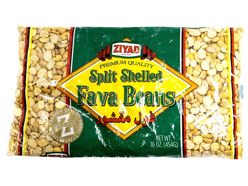 Ziyad Split Shelled Fava Beans, 16oz - Papaya Express