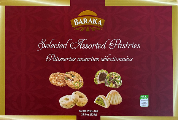 Baraka Assorted Cookies - 725g - Papaya Express