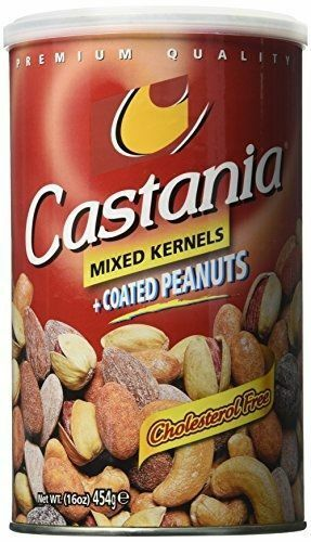 Castania Mixed Kernels +Coated Peanuts - Papaya Express