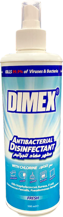 Dimex Disinfectant & Antiseptic Spray 500ML - Papaya Express