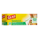 GLAD Sandwich Zipper Bags, 22cnt - Papaya Express