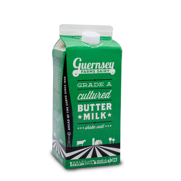 Guernsey Farm Dairy Butter Milk 1/2 Gallon - Papaya Express