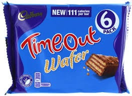 Cadberry Timeout Wafer, 127g