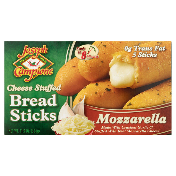 Joseph Campione Cheese Stuffed Bread Sticks, 5Sticks - Papaya Express
