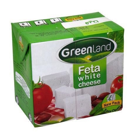 Greenland Feta White Cheese, 500g - Papaya Express