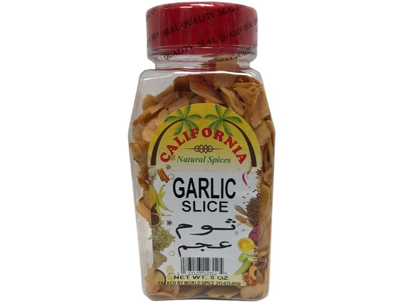 California Garlic Slice, 5oz - Papaya Express