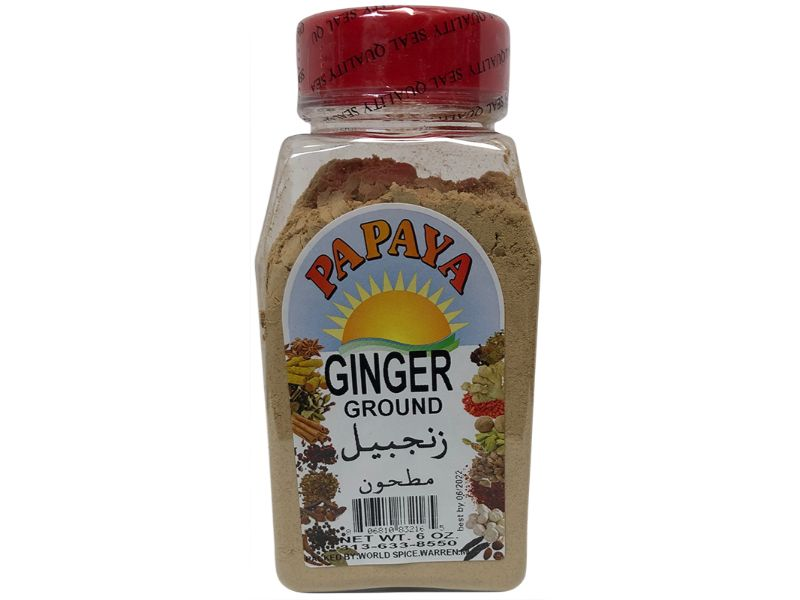 Papaya Ginger Ground, 6oz - Papaya Express