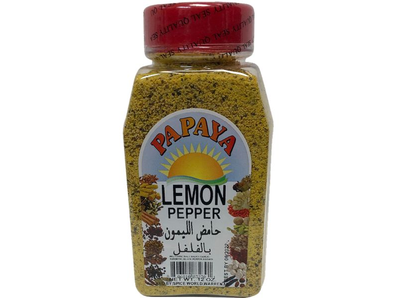 Papaya Lemon Pepper, 12oz - Papaya Express