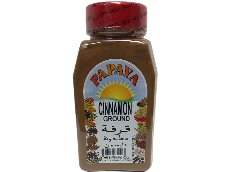 Papaya Cinnamon Ground, 9oz - Papaya Express
