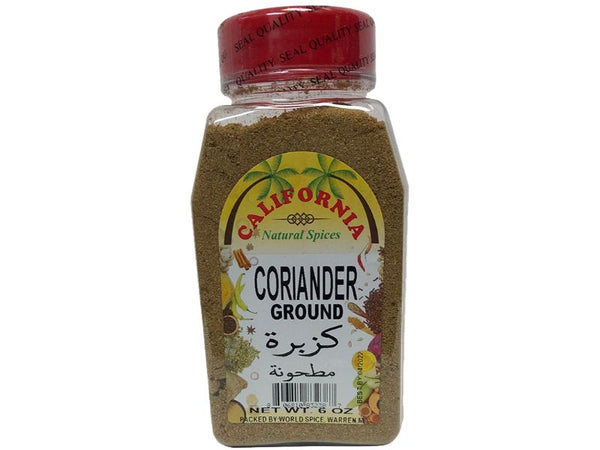 California Coriander Ground, 6oz - Papaya Express