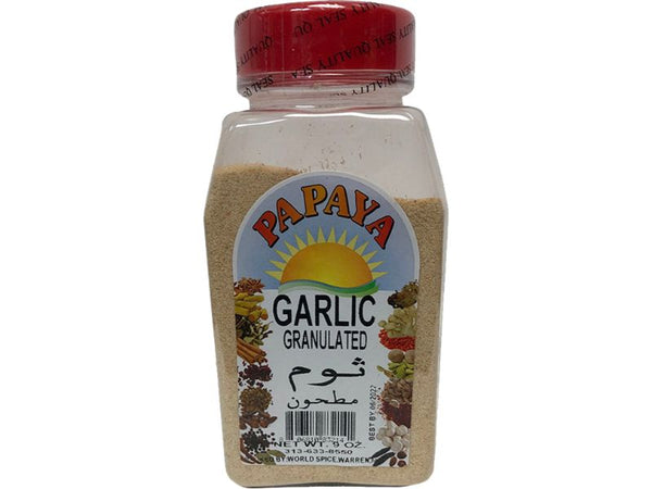 Papaya Garlic Granulated, 9oz - Papaya Express