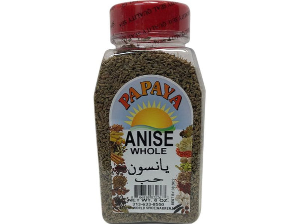 Papaya Anise Whole, 6oz - Papaya Express