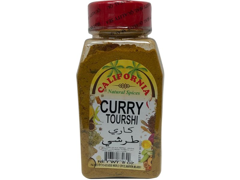 California Curry Tourshi, 8oz - Papaya Express