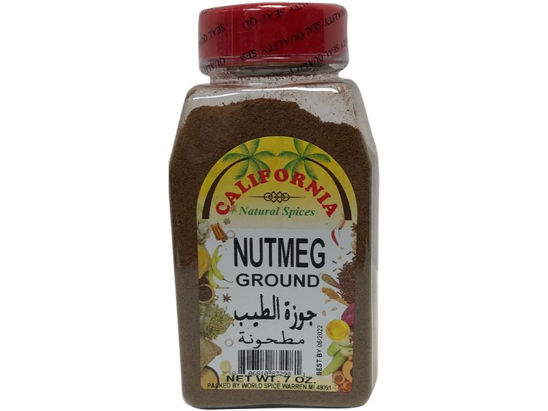 California Nutmeg Ground, 7oz - Papaya Express