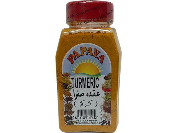 Papaya Turmeric Powder, 8oz - Papaya Express
