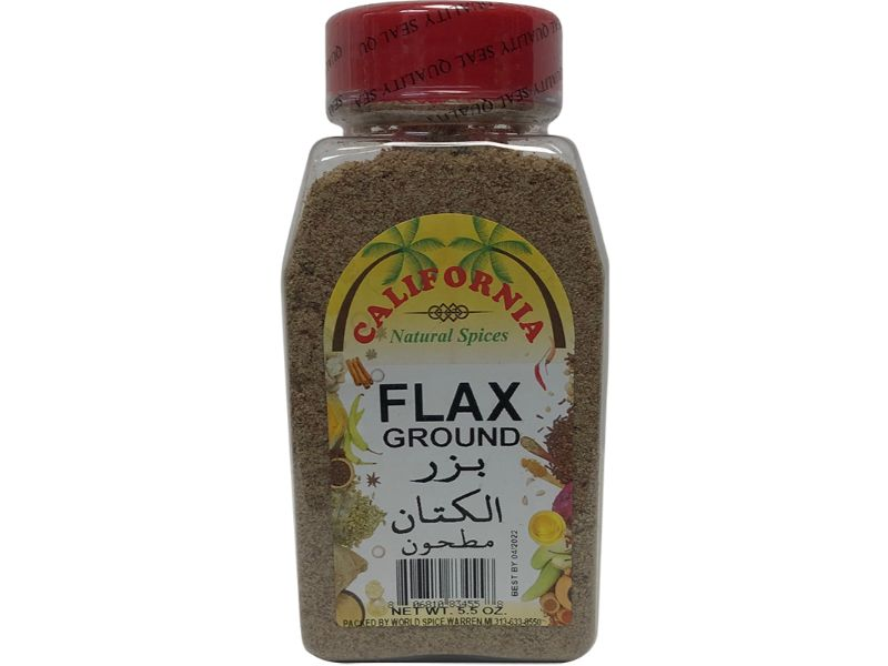 California Flax Ground, 5.5oz - Papaya Express