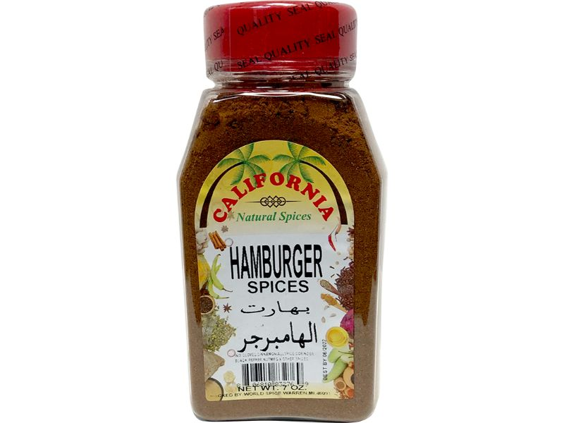 California Hamburger Spices, 7oz - Papaya Express