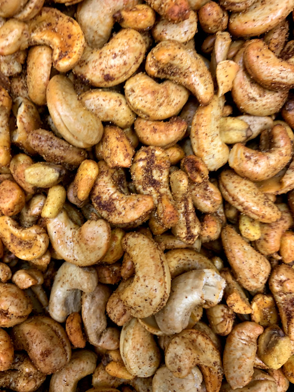 BBQ Roasted Cashews 1lb - Papaya Express