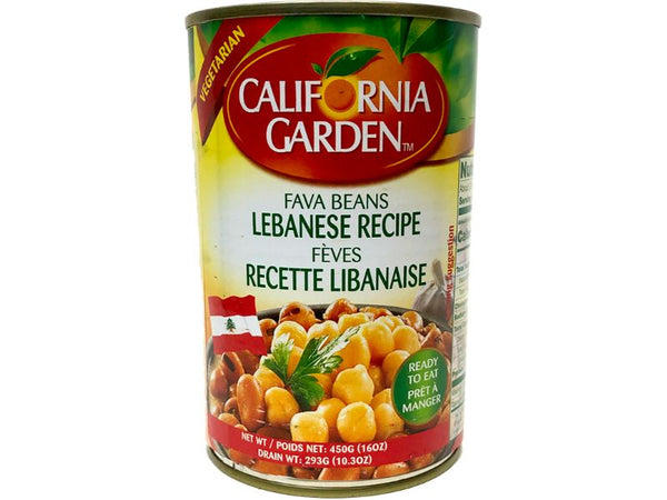 California Garden Lebanese Fava, 450g - Papaya Express