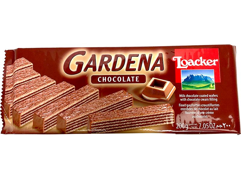 Loacker Gardena Chocolate, 200g - Papaya Express